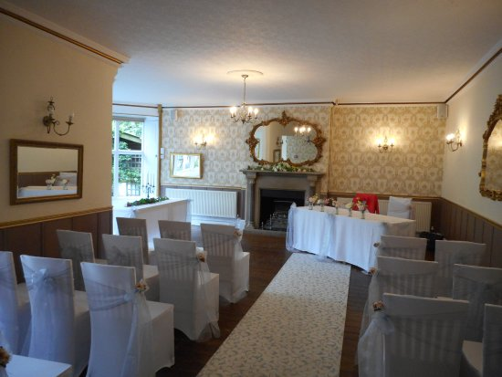 Fenny Bentley, UK: Wedding areas