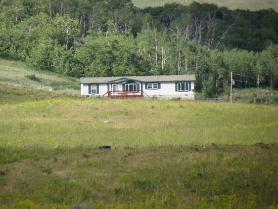 Paul Ranch Montana LLC: View from South Road