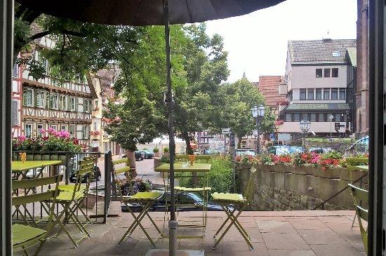 Calw, Alemania: Sonntags um 13:00 ... herrlich leer zwischen Frühstück und Kaffeeansturm