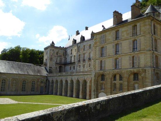 La Roche-Guyon, Fransa: chateau de la roche guyon