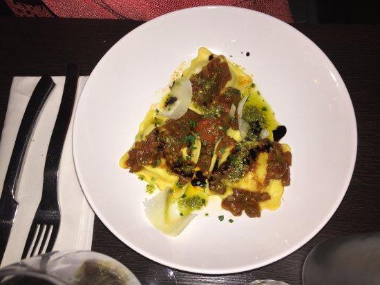 Mauvezin, Frankrike: Ravioles aux truffes