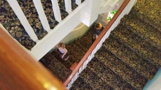 Hotel Catalina: Stairwell