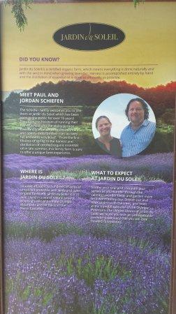Sequim, WA: Proprietors of Jardin du Soleil