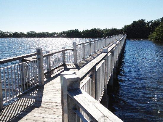 Homestead Bayfront Park: прогулочный мост