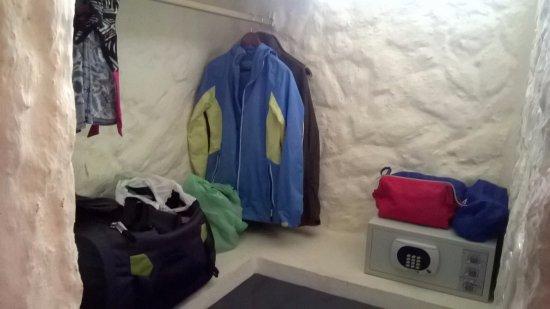 بوزادا إل مورو: cabina armadio e cassaforte