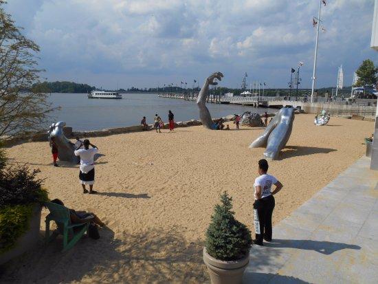 The awakening sculpture national harbor maryland picture for Awakening sculpture national harbor