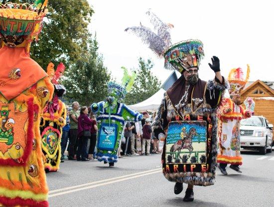 The Vashon Strawberry Festival parade