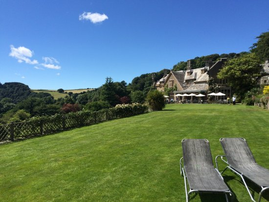 Hotel Endsleigh: Stunning summer's day in the Tamar Valley