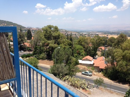 Auberge Shulamit: This is just a small part of the view. The views were expansive and not interrupted by anything.
