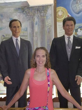 Hall of Presidents & First Ladies: Bush and Regan