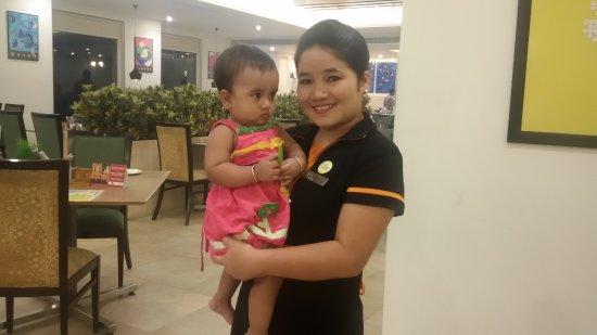 My Daughter With Sindi Picture Of Lemon Tree Premier Hitec City