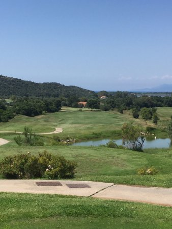Argentario Golf Club: Hole 10 par 4