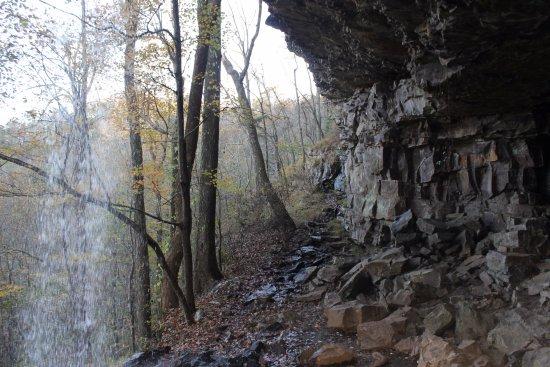 LaFayette, Geórgia: Inside the falls