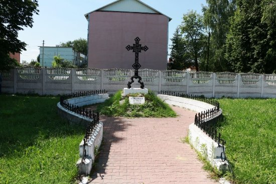 Monument at the Grave of Ten Old Russian Soldiers Who Died During Mongol Invasion