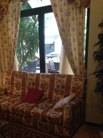 Hotel Brennero e Varsavia: Társalgó rész