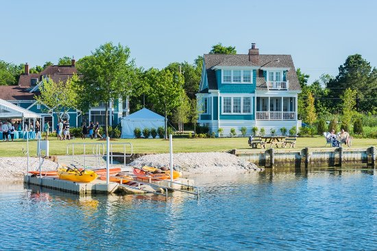 Rock Hall, MD: View of Cottage from water