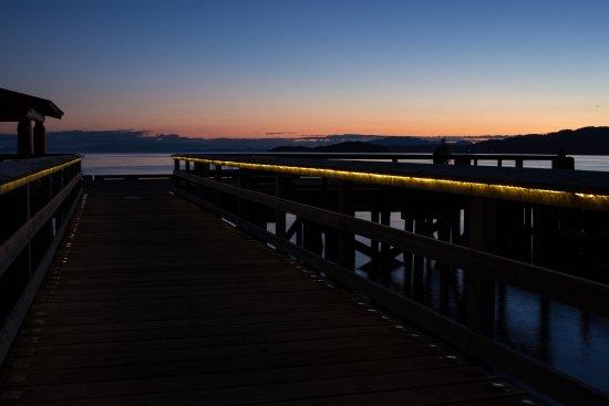 Sechelt, Canadá: sunset view