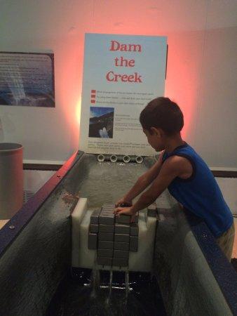 West Hartford, CT: building a dam