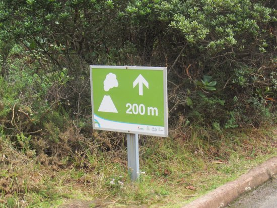 Poas Volcano National Park, Costa Rica: Sign