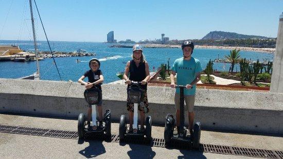 Barcelona Segway Fun: 20160717_142402_large.jpg