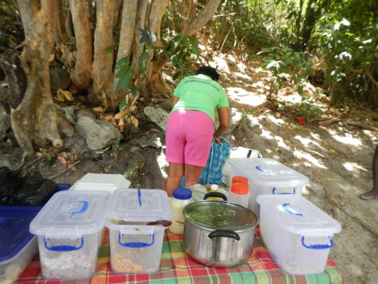 Vieux Fort, St. Lucia: Oh yay... lunch!