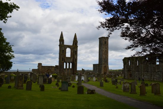 St Andrews Cathedral: The ruins of the cathedral