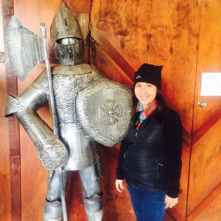 Tirau, New Zealand: knight!