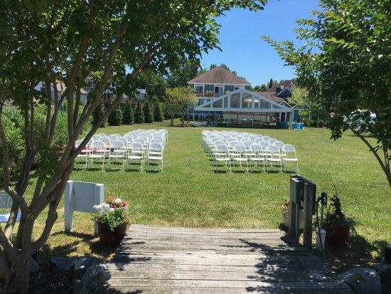 Rock Hall, MD: Wedding site