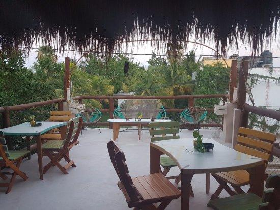 Tribu Hostel: TERRAZA DEL BAR