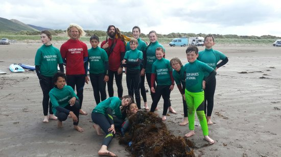 Inch, Ireland: Kingdomwaves Surf School