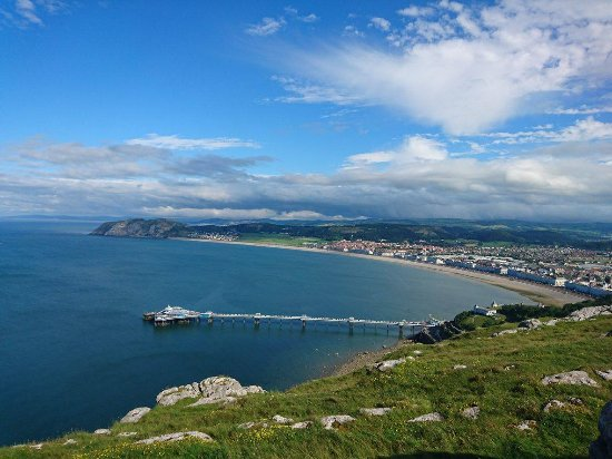 View of Llandudno from Great Orme