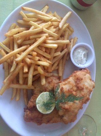 Loughrea, Irlanda: Fish and Chips