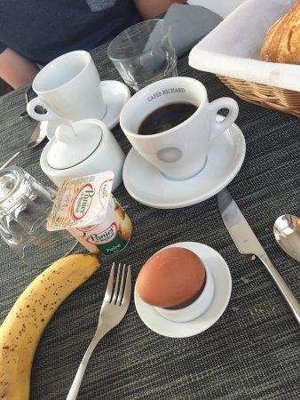 Hotel Jules : Photo du petit dejeûnet qui est un buffet
