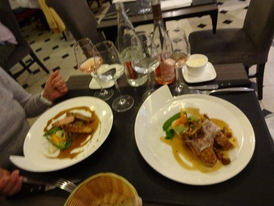 Le Paris : sehr exzentrische Teller