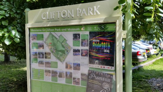 Park Map Picture of Clifton Park Rotherham TripAdvisor