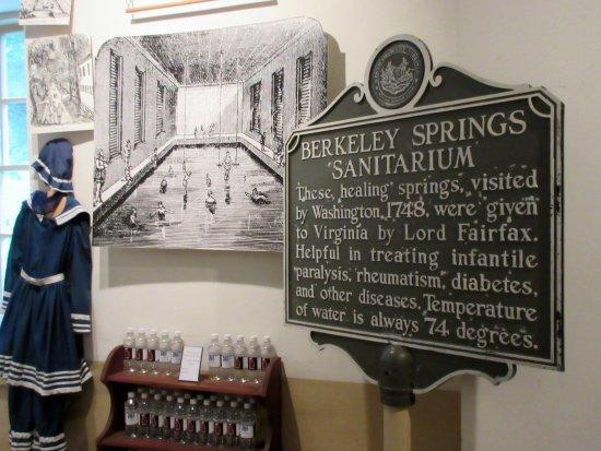 Berkeley Springs, เวสต์เวอร์จิเนีย: A peek at the history