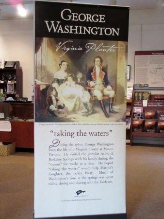 Berkeley Springs, Virginia Occidental: George Washington actually WAS here!