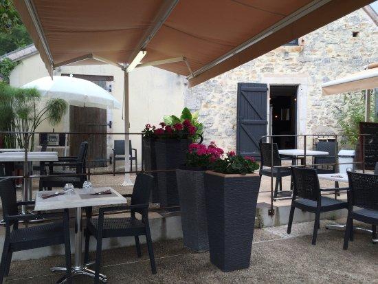 Tour-de-Faure, فرنسا: terrasse