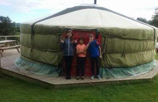 Oaktree-Lane: Dartmoor yurt - 1 of 3