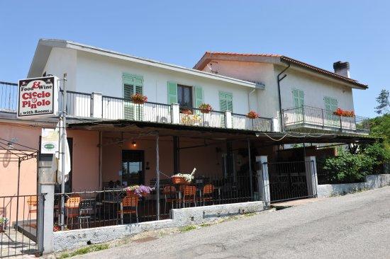 Province of La Spezia, Italien: Restaurant und Boarding House