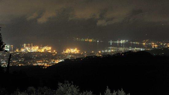Province of La Spezia, Italien: Aussicht am Abend