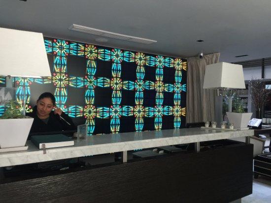 Hotel Matilda: Front desk