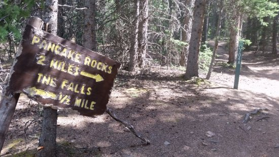 Divide, CO: Fork in the trail