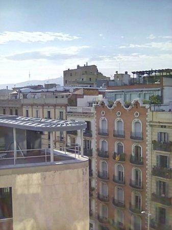 Meson Castilla Atiram: View from balcony