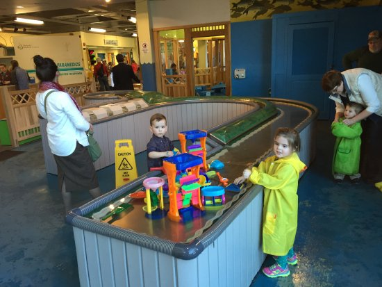 Holyoke Children's Museum Water Stand