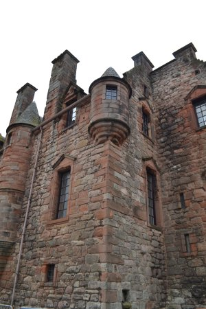 Port Glasgow, UK: A cool round turret