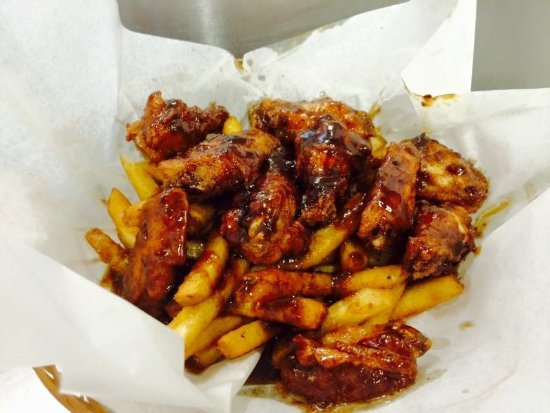 Our signature buffalo wings with your