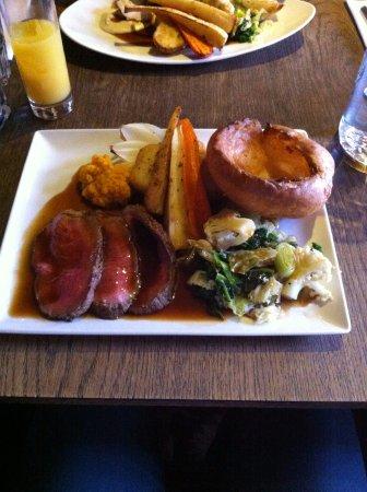 Horsted Keynes, UK: Roast beef