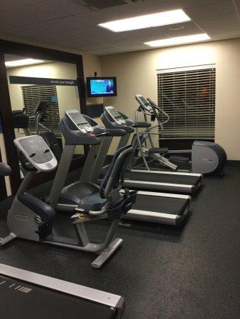 Hampton Inn Knoxville-West At Cedar Bluff: Fitness Room