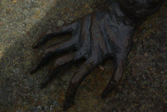 Invercargill, New Zealand: Pate du tuatara
